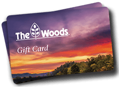 The Woods gift cards for golf, spa, massage and more