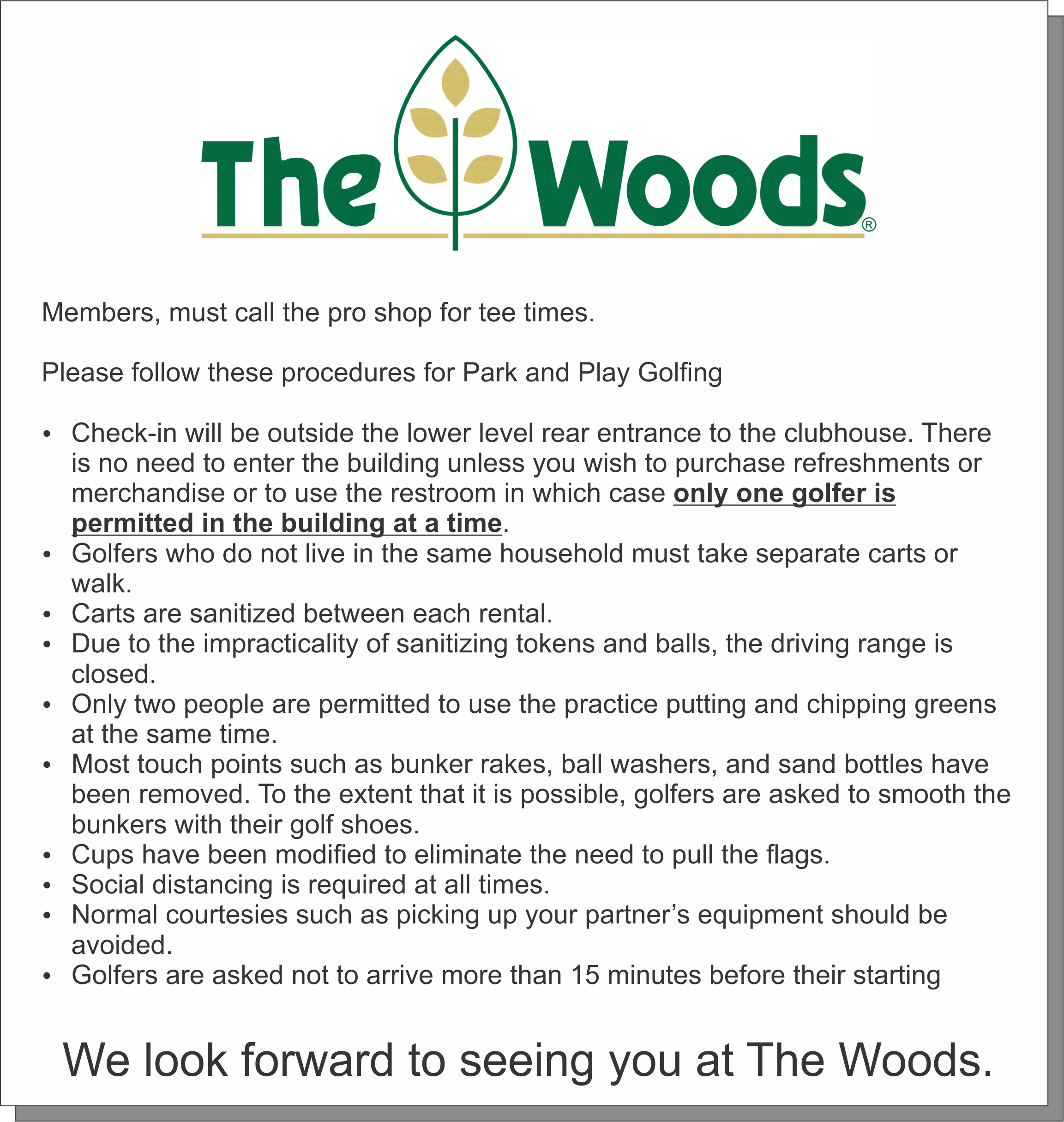 WoodsMessage
